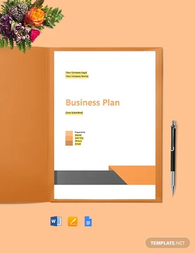 computer support business plan template