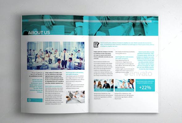 corporate company brochure