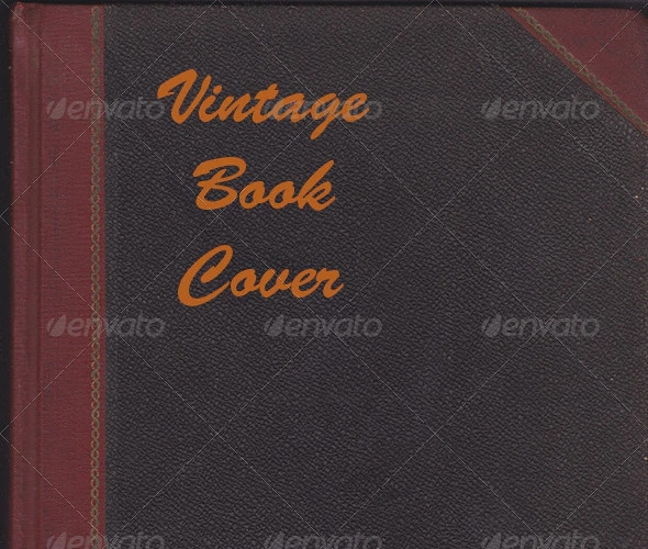 creative vintage book cover