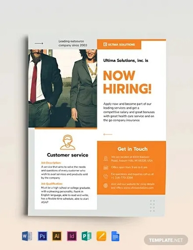 employee recruitment flyer template