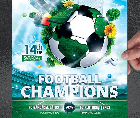 football champions flyer
