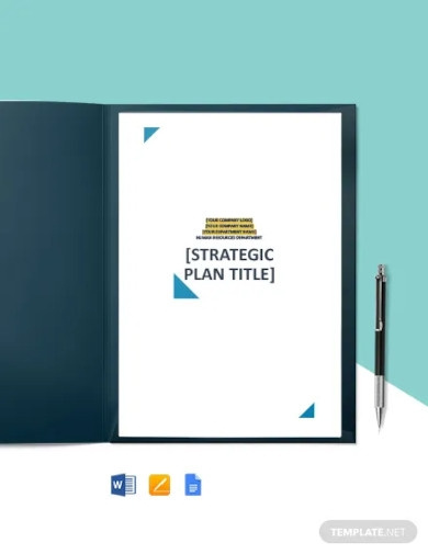 free sample hr strategy plan template