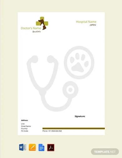 free veterinary doctors prescription template