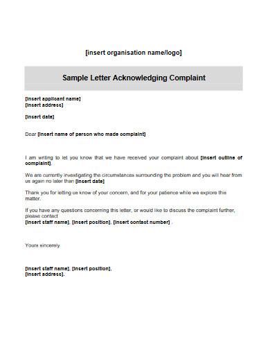 hr complaint letter in pdf
