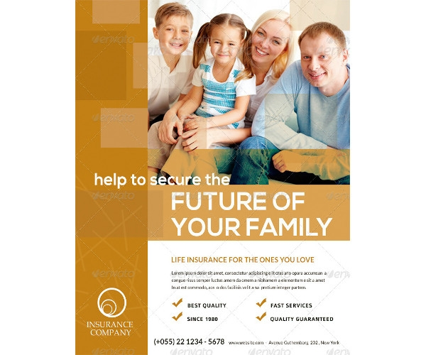 insurance flyer example