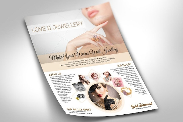 jewellery flyer example