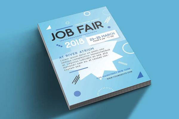 job fair flyer design
