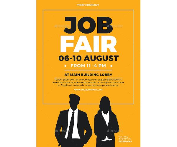 job fair flyer example