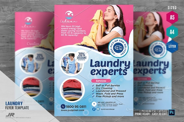 laundry care expert flyer
