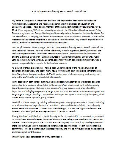 letter of interest in pdf
