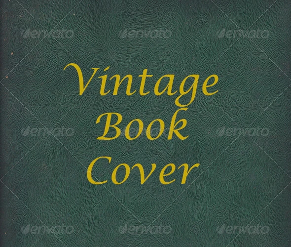 modern vintage book cover