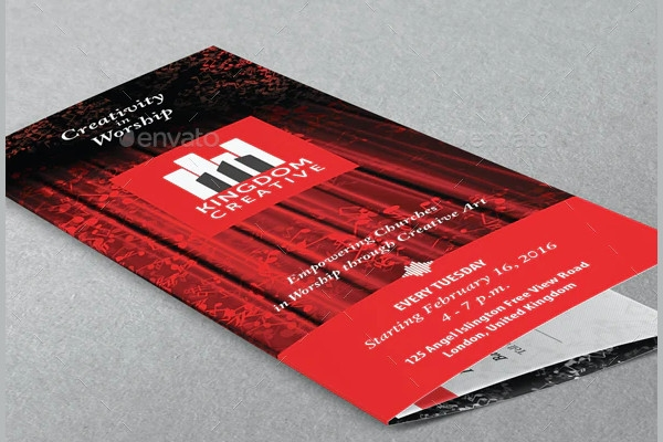 music creative art school brochure