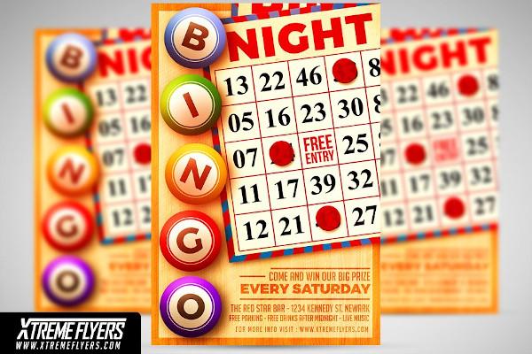 sample bingo night flyer
