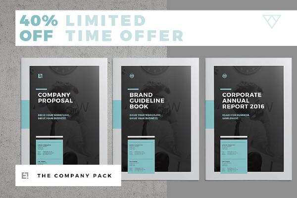 sample company brochure