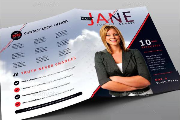 sample political brochure