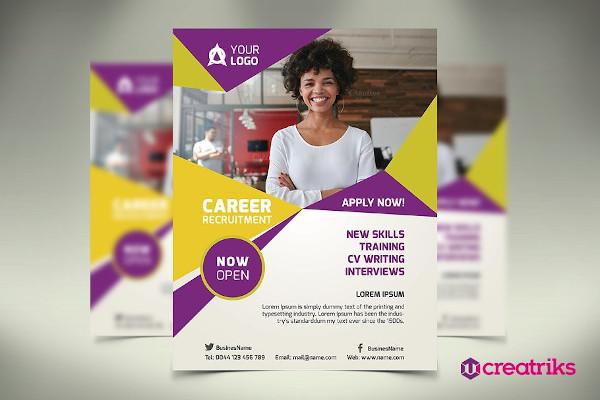 sample recruitment flyer