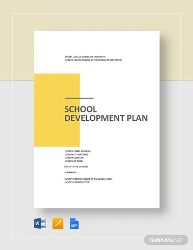 school development plan