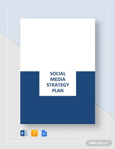 social media strategy plan template