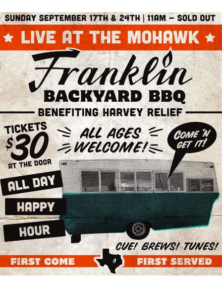 Advertising Flyer Example of Franklin BBQ