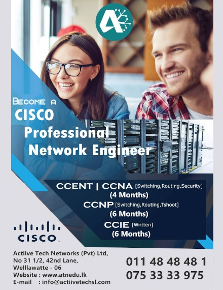 CISCO Company Training Flyer Example