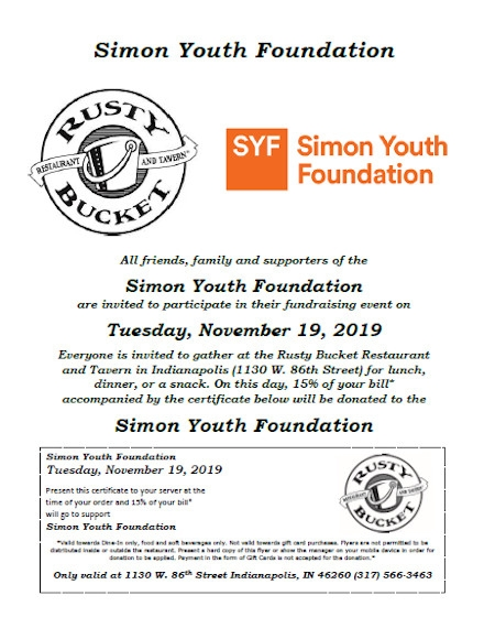 Donation Flyer Example of SYF
