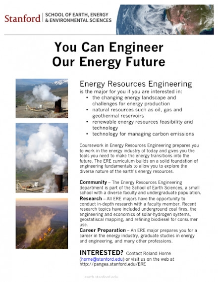 Energy Resources Flyer