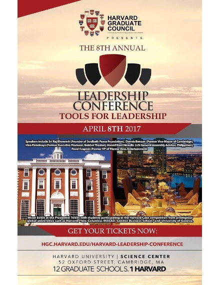 Harvard University Conference Flyer Example