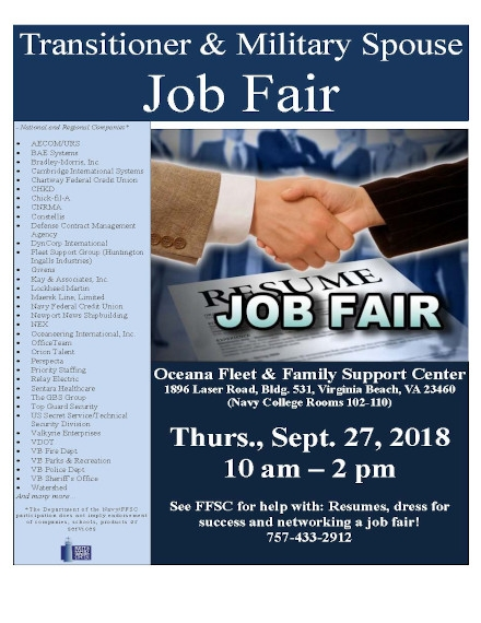 Job Fair Flyer Example