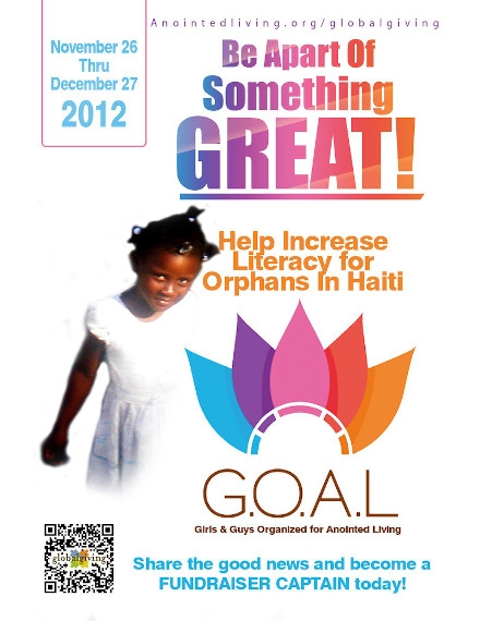Non Profit Flyer Example of GlobalGivings