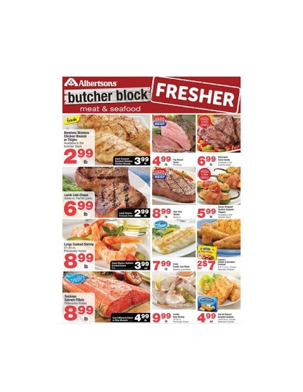 Sample Albertsons Weekly Ad Flyer