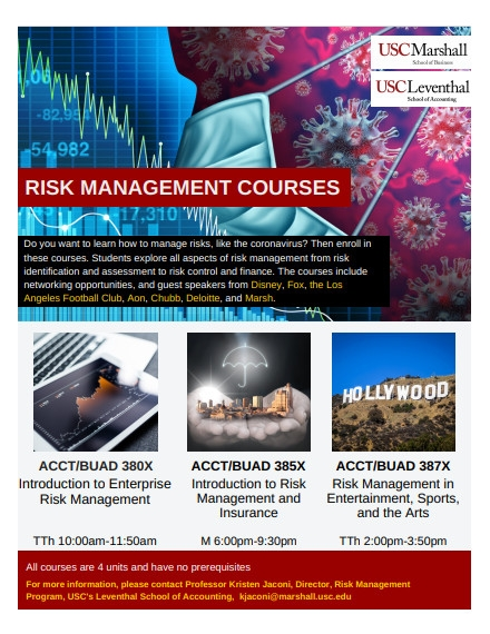 Training Course Flyer Example of USC University