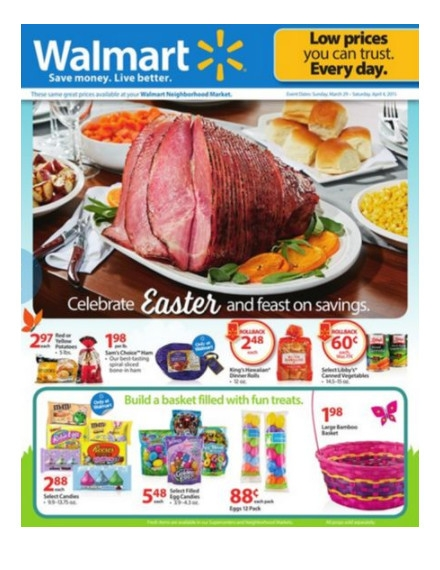 Walmart's Flyers Example