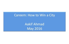 Careem Pitch Deck Example