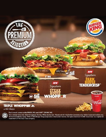 Food Advertising Flyer Example of Burger King