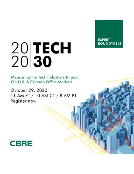 Conference Flyer Example of CBRE