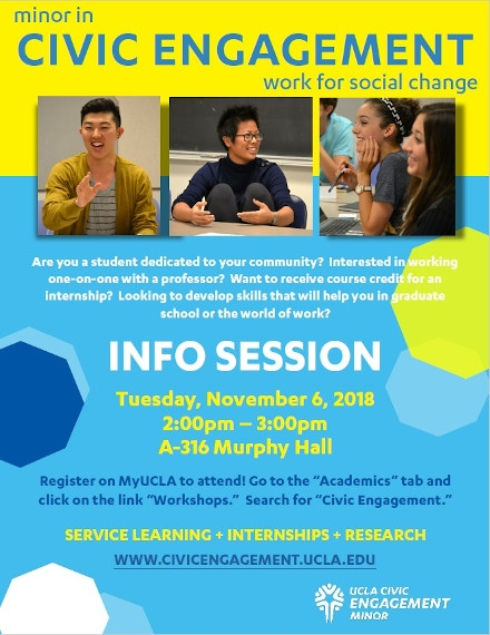 Education Flyer Example of UCLA