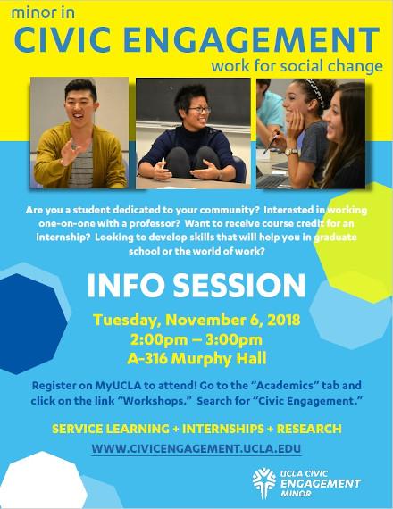 Education Flyer Example of UCLA