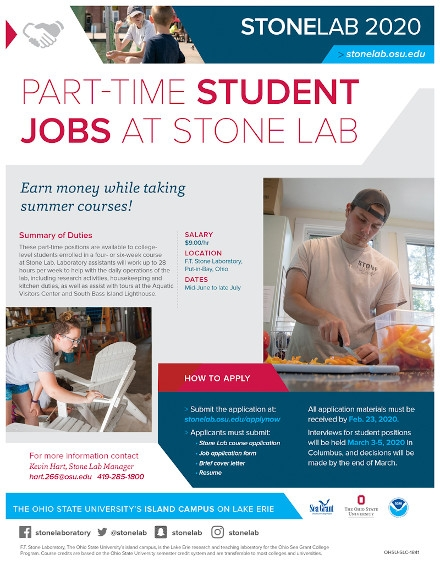 Student Job Flyer Examples of OHIO