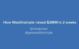 Wealthsimple Pitch Deck Example