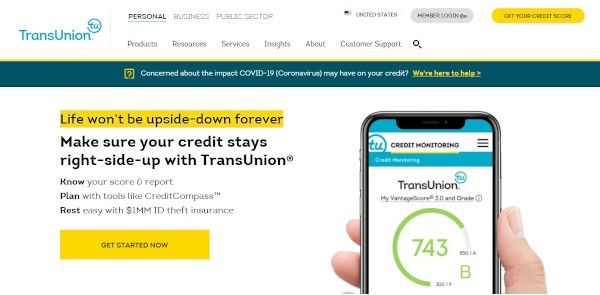 Call To Action of TransUnion