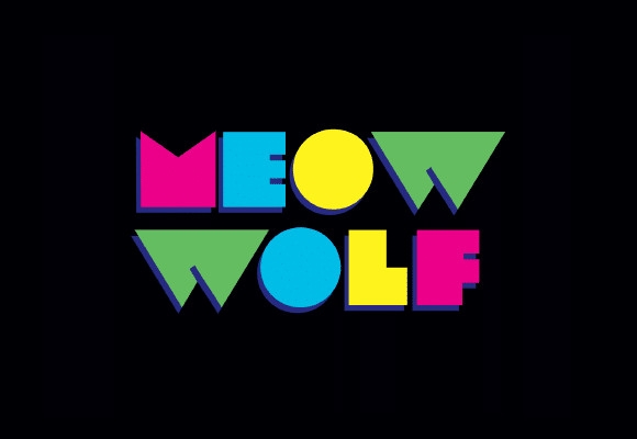 Meow Wolf Branding Example