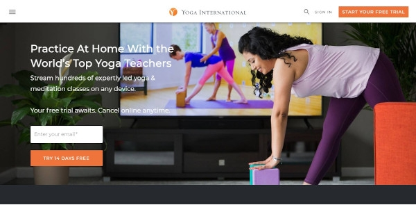 yoga international call to action