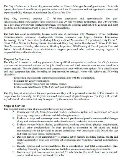 compensation analysis study
