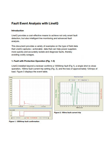 fault event analysis