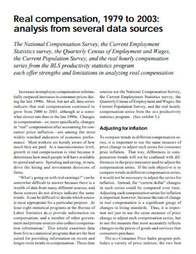 printable compensation analysis