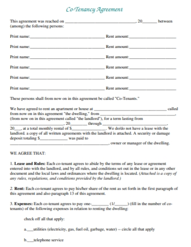 private house lease agreement