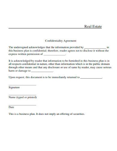 property investment proposal agreement template