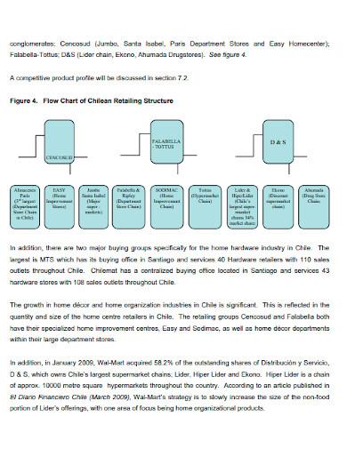 retail international marketing plan template