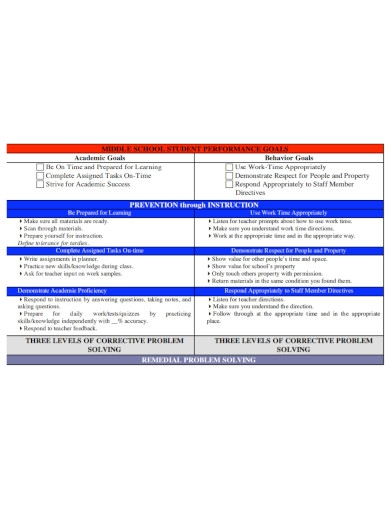 academic goals for high school students in pdf