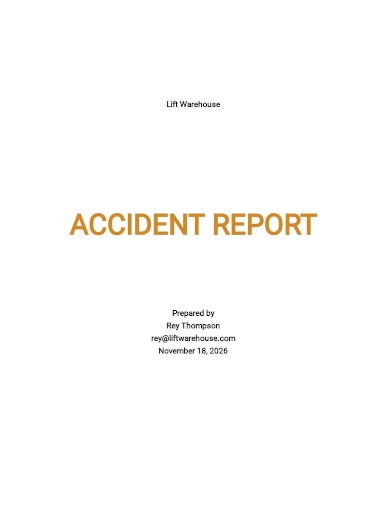 accident report template1